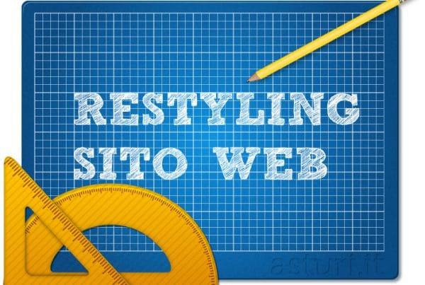 restyling del sito web