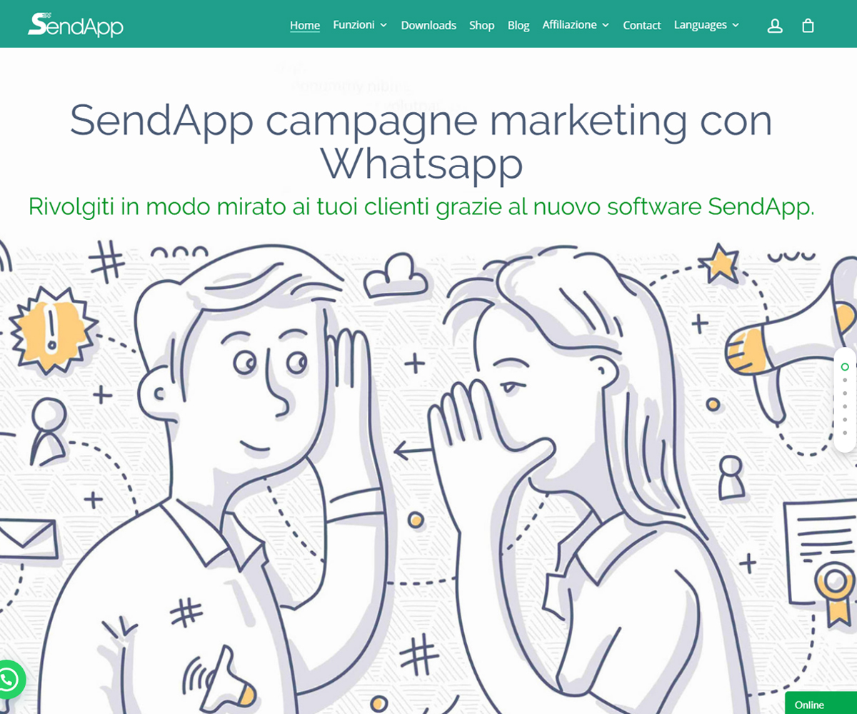 SendApp Whatsapp marketing