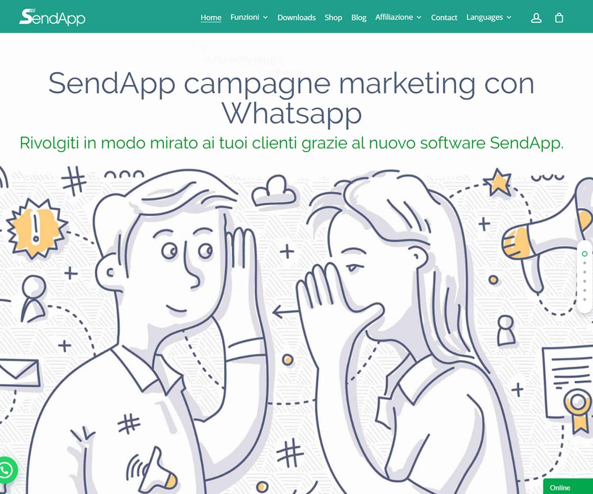 SendApp Whatsapp marketing